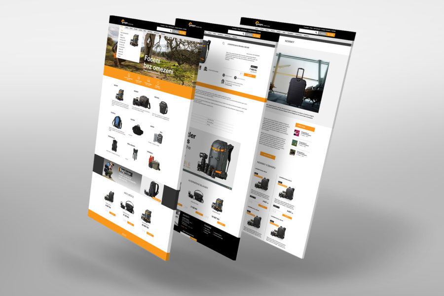 E-shop Lowepro.cz