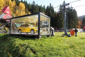 Modulové řešení Audi - Špindlerův Mlýn