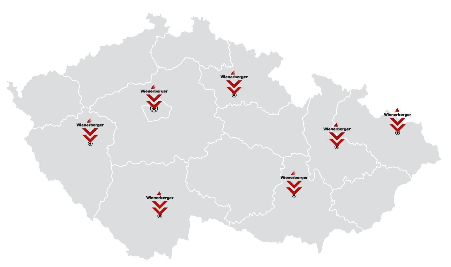 Wienerberger forum 2018 - mapa