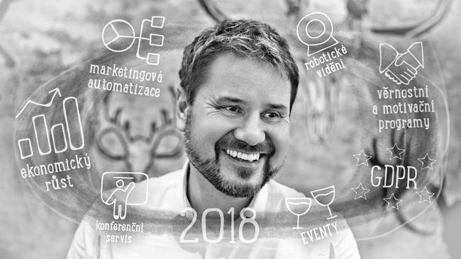Erik Elmer a marketingové vize pro rok 2018