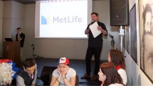 firemní večírek MetLife